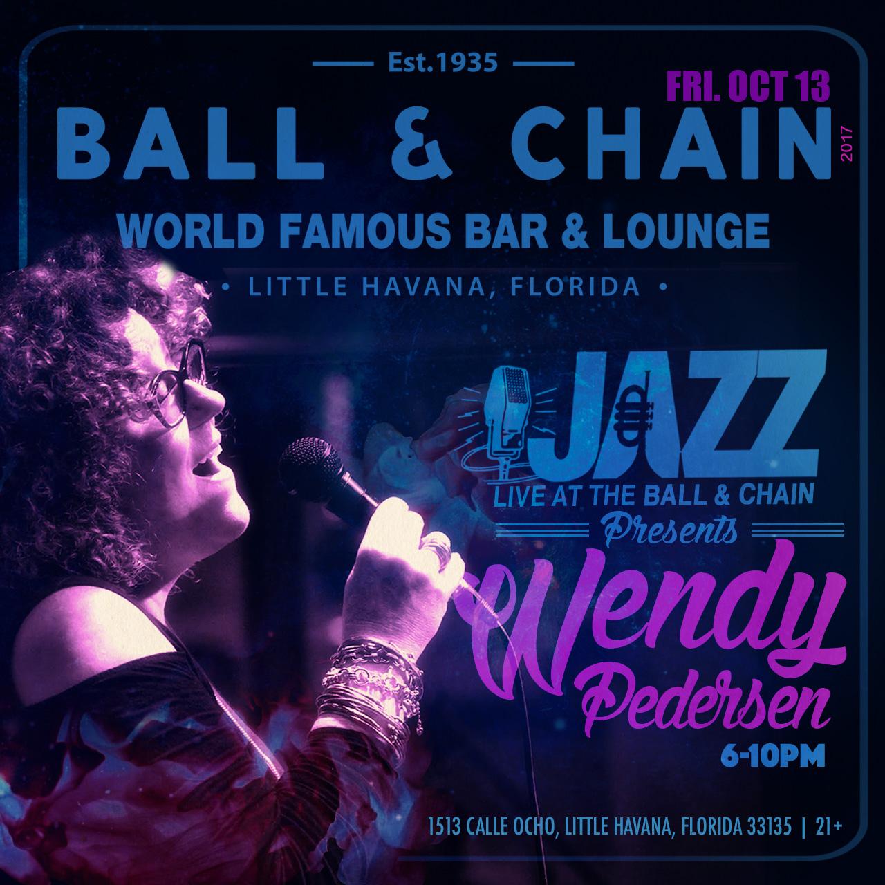 Wendy Pedersen Live October 13, 2017